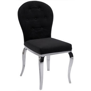 Somette Tabitha Microfiber Side Chair (Set of 2)