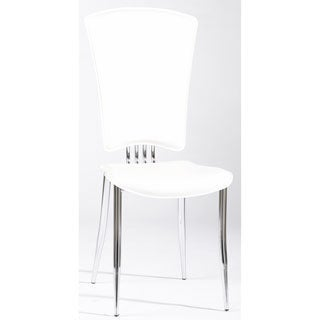 Somette Tina White Modern Dining Chair (Set of 6)