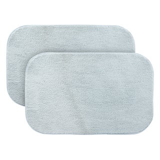 Sherry Kline Woodlawn Blue 2-piece Bath Rug