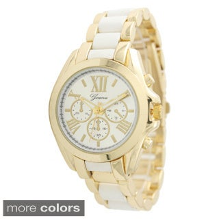 Olivia Pratt Women's Two Tone Boyfriend Watch