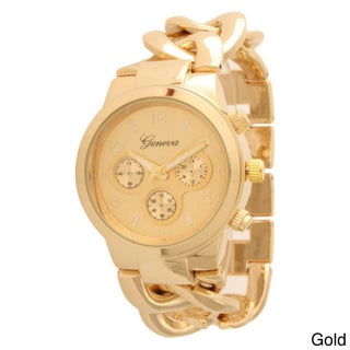 Olivia Pratt Women's Thick Chain Link Watch (5 options available)
