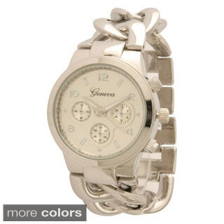 Olivia Pratt Women's Thick Chain Link Watch