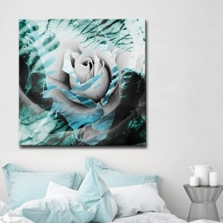 Ready2HangArt 'Painted Petals XLVIII' Floral Canvas Wall Art