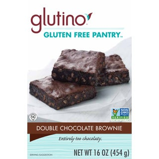 Gluten Free Pantry 16-ounce Double Chocolate Brownie Mix (Pack of 4)