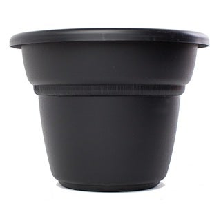 Bloem Milano Black Planter