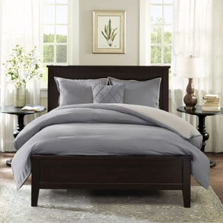 Harbor House Linen 2-Tone Reversible 3-piece Duvet Cover Set