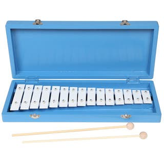Handmade X8 Drums Student Xylophone with Case and Mallets (Taiwan)|https://ak1.ostkcdn.com/images/products/9746716/P16920332.jpg?impolicy=medium
