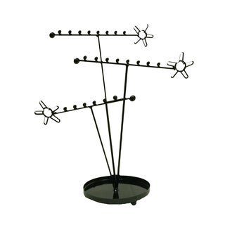 Metal Flower Earring Holder (India)