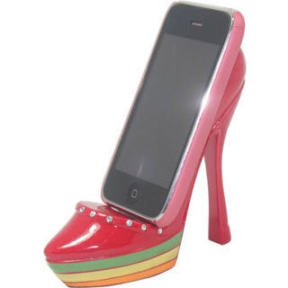 Rasta Shoe Cell Phone Holder