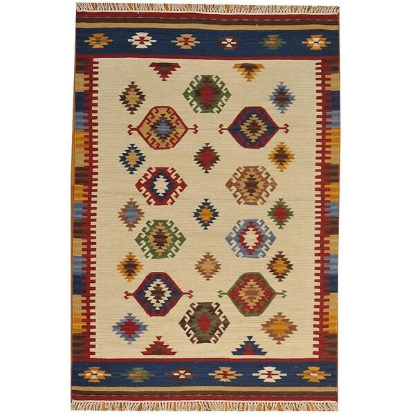 Camel Wool Rug Persian Rug Handwoven Kilim Area: Shop Hand-woven Anatolian Kilim Flat Weave Oriental Rug