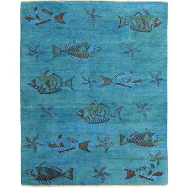 Fish area rug for Fish area rug