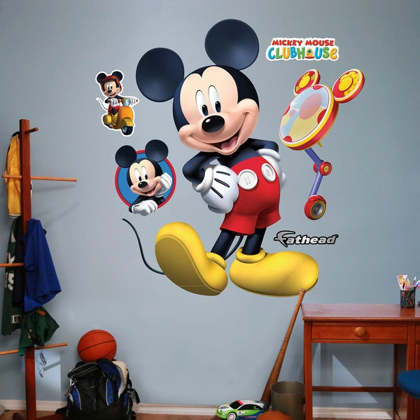 Shop Fathead Mickey Mouse Clubhouse Wall Decals - Free ...