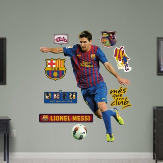 Fathead Lionel Messi Wall Decals