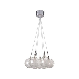 Starburst Chrome 7-light Multi-light Pendant