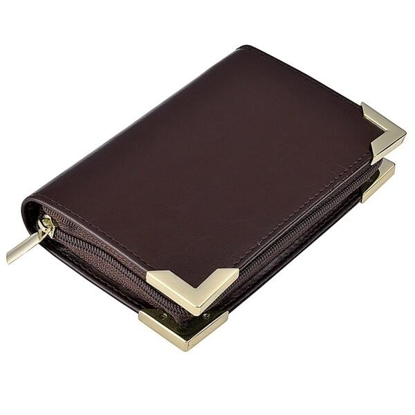 Zodaca Professional Genuine 100-percent Leather Business