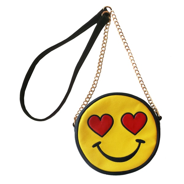 Shop Olivia Miller Love Struck Emoji Crossbody - Ships To