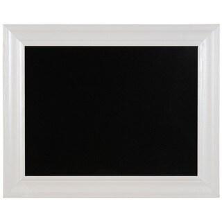 Linon White Frame Chalkboard (24-inchx30-inch)