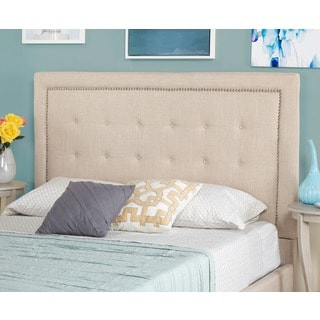 Simple Living Cortina Upholstered Queen Headboard