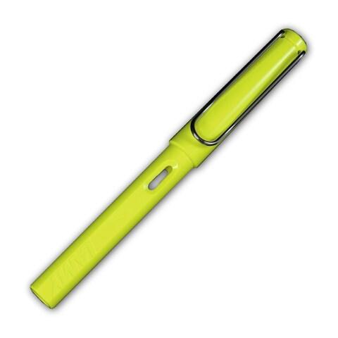 Lamy Safari Fountain Pen (Shiny Yellow Barrel, 4 Nib Options)