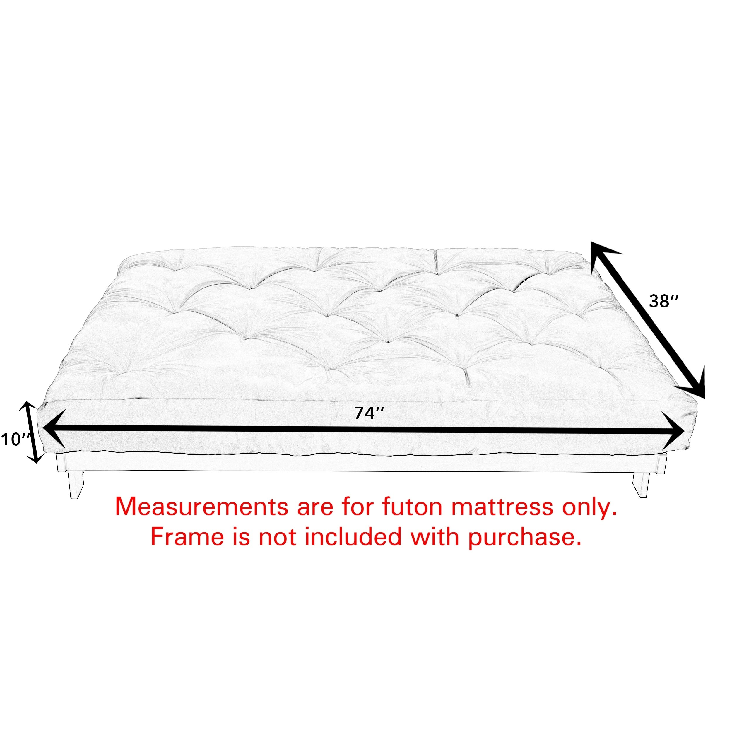 Twin Futon Chair Frame Marcuscable Com