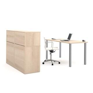 i3 by Bestar Executive Kit with 2 Storage Units