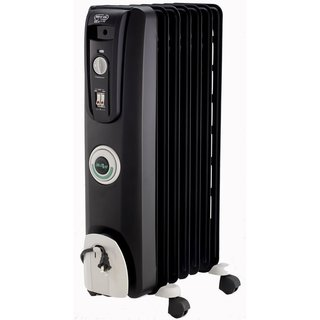 Delonghi EW7707CB 1500-watt Black Safeheat ComforTemp Oil-Filled Radiator