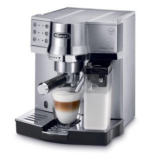 DeLonghi EC860 15-Bar Pump Espresso Maker with Automatic Cappuccino System