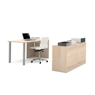 i3 by Bestar Executive Kit with Separate Storage Unit
