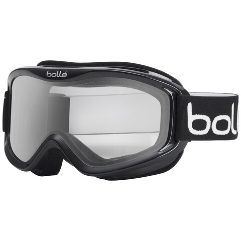 Bolle 20570 Mojo Ski Goggles Shiny Black Frame Clear Lens