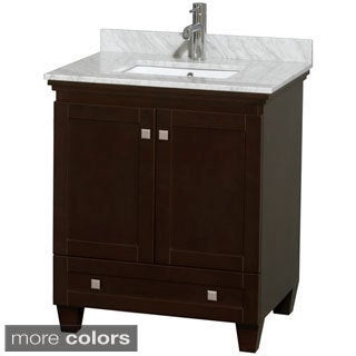 Wyndham Collection Acclaim Espresso 30-inch Single Bathroom Vanity