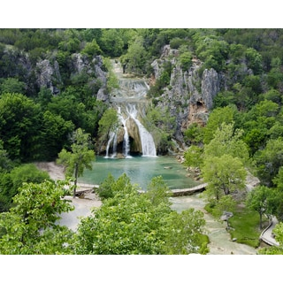 Stewart Parr 'Turner Falls of the Arbuckle Mountains in Oklahoma' Unframed Photo Print