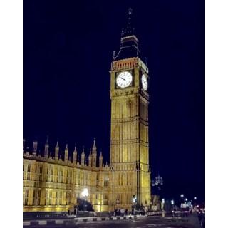 Stewart Parr 'London England's Big Ben Clock' Unframed Photo Print