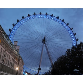 Stewart Parr 'London Eye from entry side of River' Unframed Photo Print