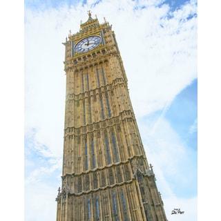 Stewart Parr 'London England's Big Ben clock tower' Unframed Photo Print