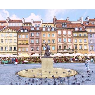 Stewart Parr 'Old town Warsaw, Poland' Unframed Photo Print
