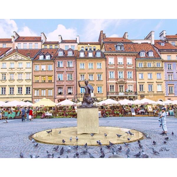 Shop Stewart Parr 'Old Town Warsaw, Poland' Unframed Photo