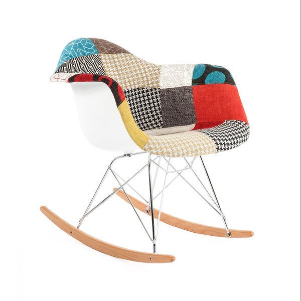 Shop Hans Andersen Home Mid Century Style Rocking Chair