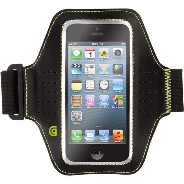 finest selection ac29b d09c1 Griffin Trainer Carrying Case (Armband) iPhone 5, iPhone 5S, iPhone 5c,  iPod touch - Black