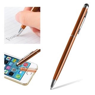 INSTEN Universal Color 2-in-1 Capacitive Touch Screen Stylus Ballpoint Pen