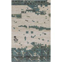 Hand-Woven Leonard Abstract Reversible Area Rug (5' x 8')