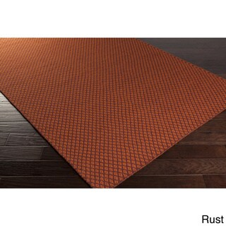 Hand-Woven Marisol Geometric Reversible Wool Rug (3'3 x 5'3)