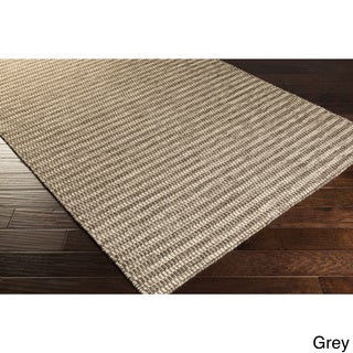 Hand-Woven Lorelai Stripe Reversible Wool Rug (3'3 x 5'3)