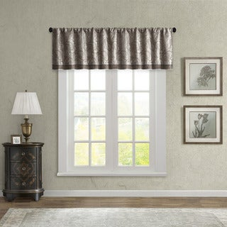 Link to Madison Park Whitman Jacquard Valance Similar Items in Window Treatments