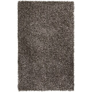 Hand-Woven Lindsey Solid Indoor Polyester Rug (8' x 10')