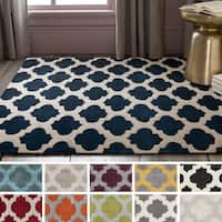 Hand-Tufted Elaine Lattice Area Rug (5' x 8')