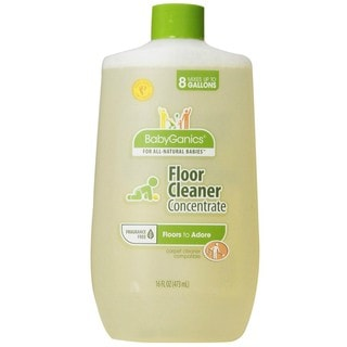 BabyGanics 16-ounce Floor Cleaner Concentrate (Fragrance-free)