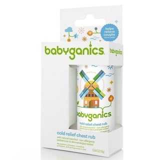 BabyGanics .64-ounce Cold Relief Chest Rub Stick