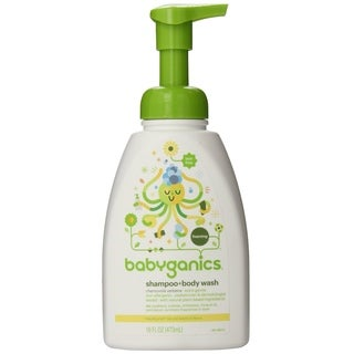 BabyGanics Shampoo and Body Wash 16-ounce - Chamomile Verbena