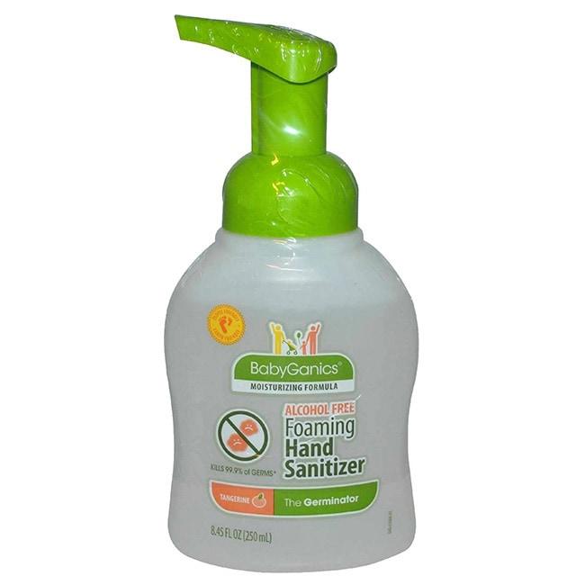BabyGanics Alcohol-free Foaming Hand Sanitizer 8.45-ounce...