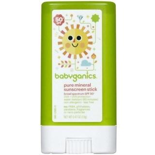 BabyGanics .47-ounce SPF50+ Sunscreen Stick (Fragrance-free)